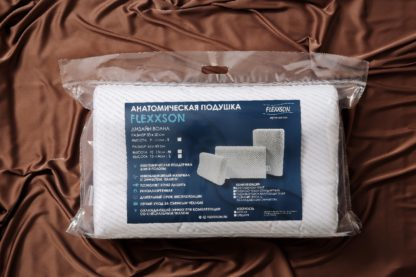 Анатомическая подушка с эффектом памяти Дизайн «Волна» 4