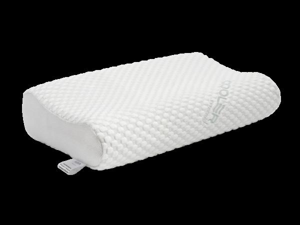 Анатомическая подушка со съемным охлаждающим чехлом большого размера 60×40×12-14 см 1