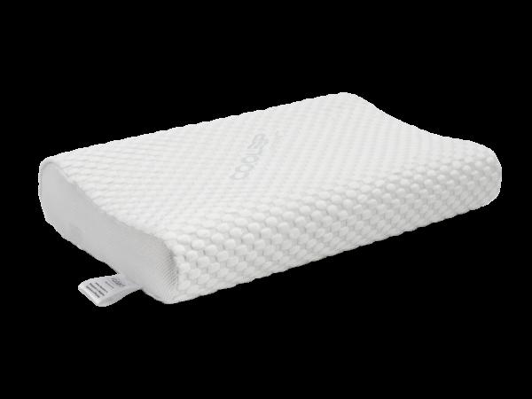 Анатомическая подушка со съемным охлаждающим чехлом среднего размера 60×40×10-12 см 1