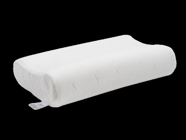 Анатомическая подушка со съемным чехлом среднего размера 60×40×10-12 см 1