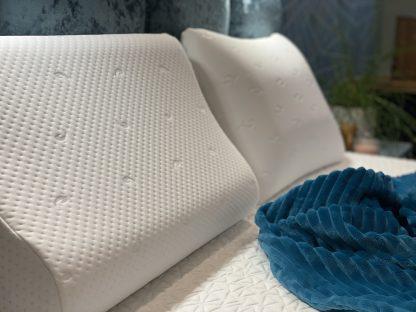 Анатомическая подушка с эффектом памяти Дизайн «Волна» 3
