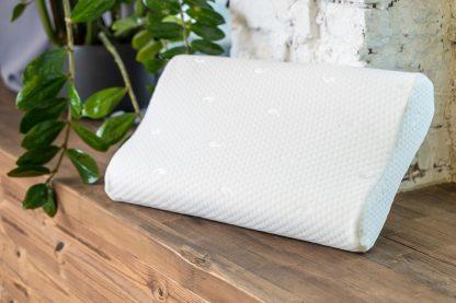 Анатомическая подушка с эффектом памяти Дизайн «Волна» 1
